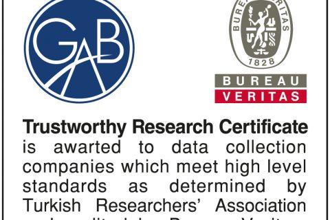 Güvenilir Araştırma Belgesi (GAB) Aldık!